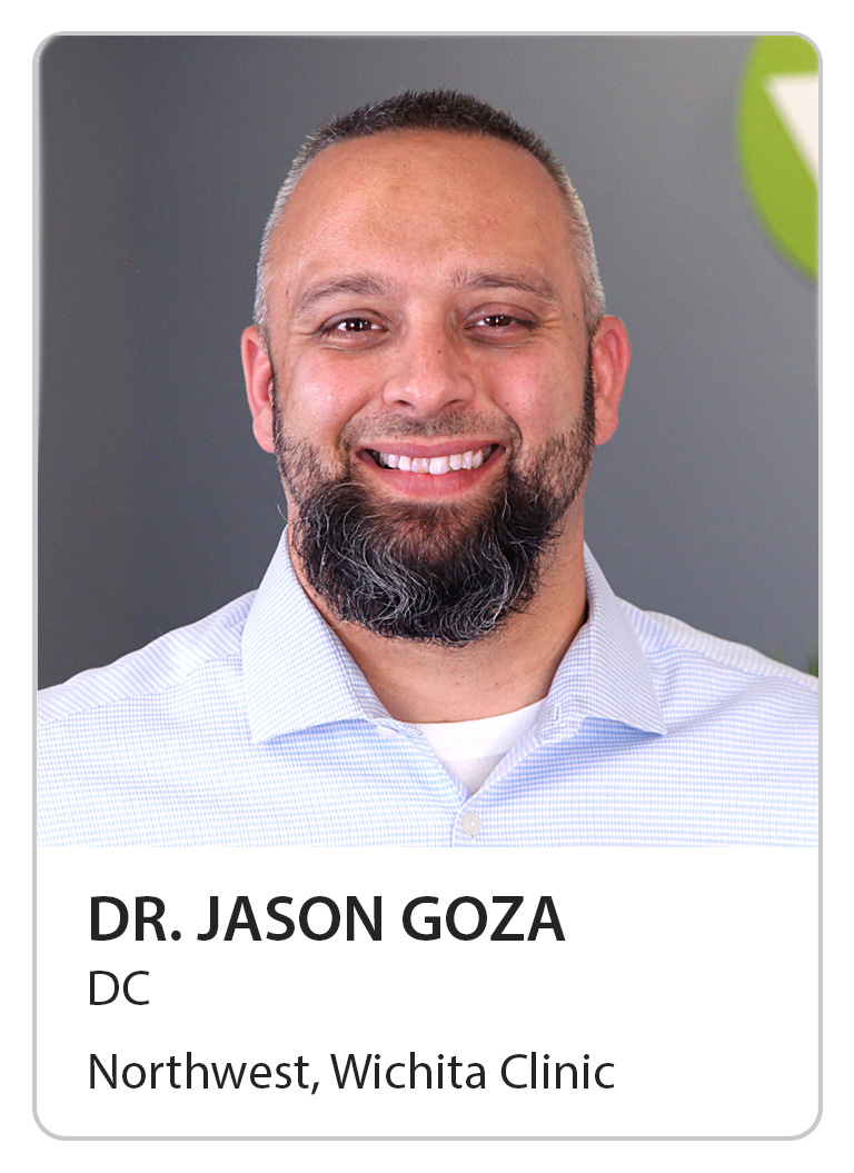 Dr. Jason Goza of Wilbeck Chiropractic