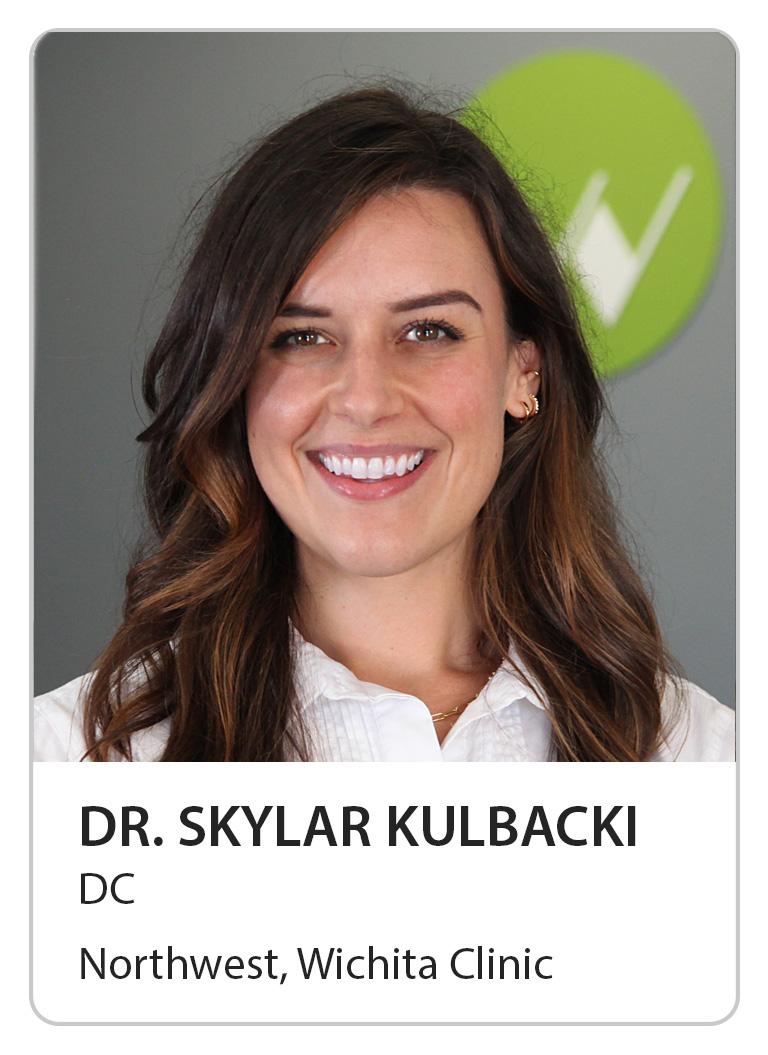 Dr. Skylar Kulbacki of Wilbeck Chiropractic