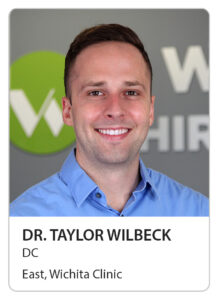 Dr. Taylor Wilbeck of Wilbeck Chiropractic