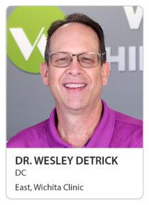Dr. Wesley Detrick of Wilbeck Chiropractic